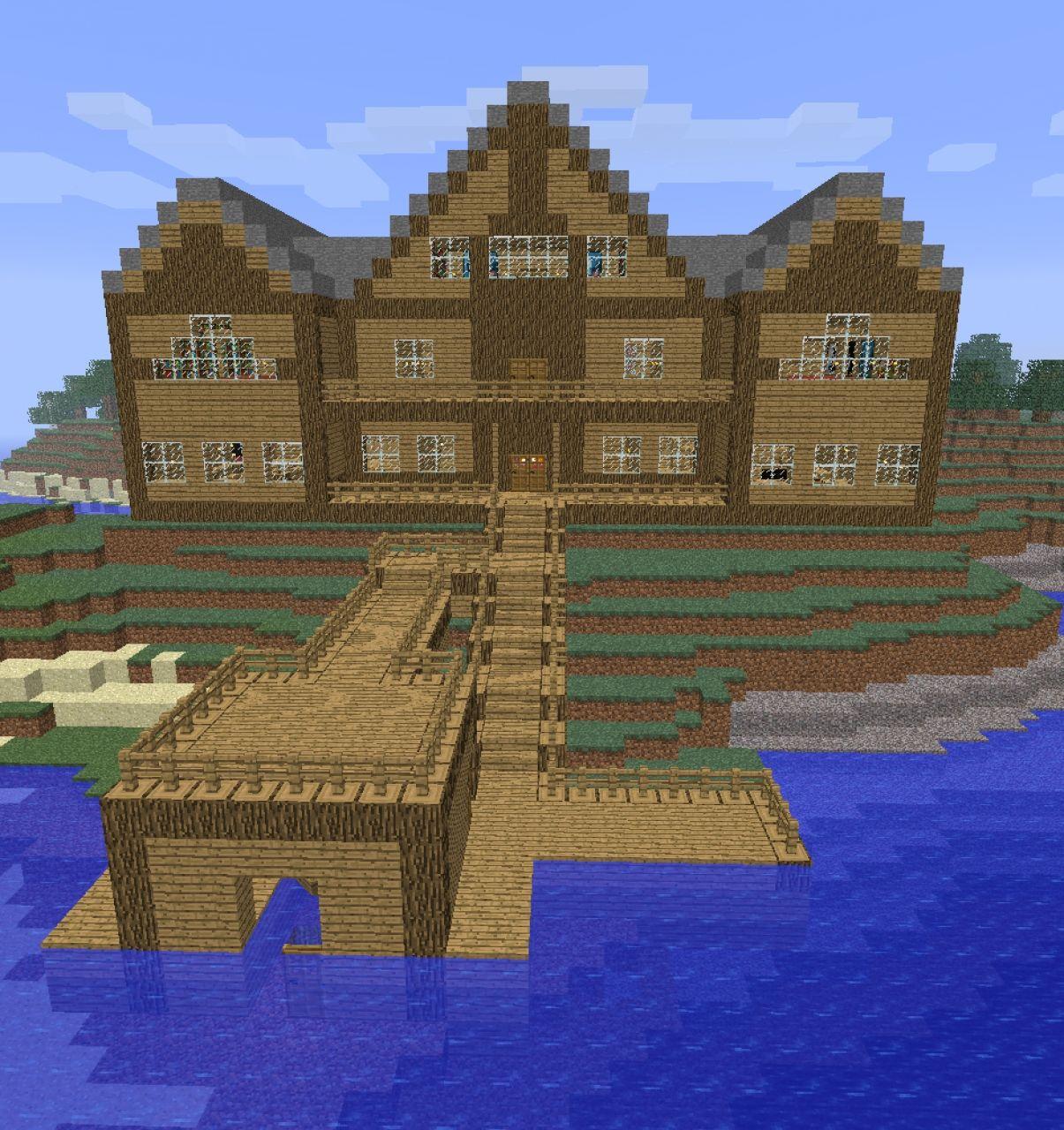 Log Cabin Minecraft Design Car Pictures