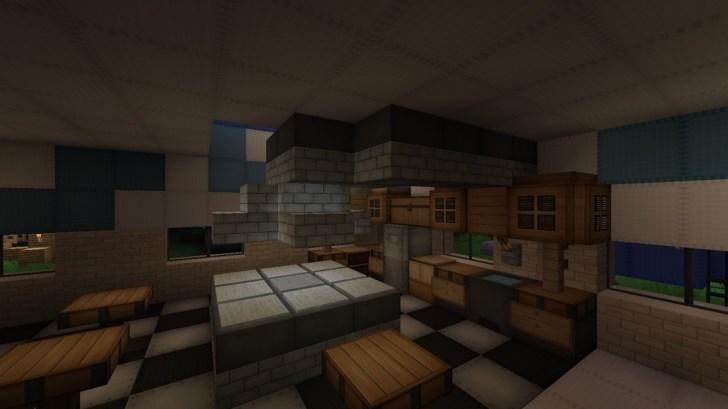 Minecraft Kitchen Designs Modern