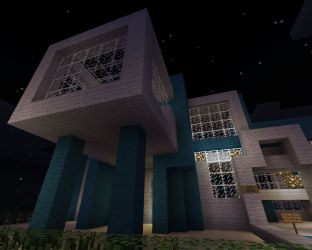 modern hall town project minecraft 19th apr published pm