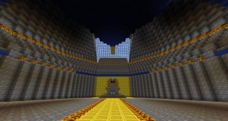 dwarven castle forge project minecraft dwarves entrance main