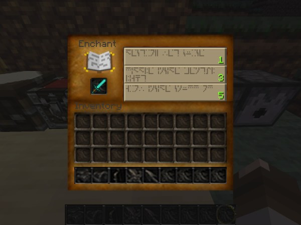 Minecraft Enchanted Texture Pack - Year of Clean Water