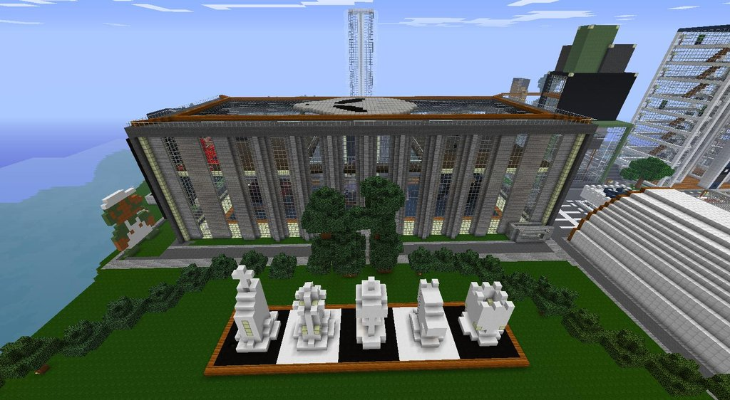 Minecraft Museum Of Modern Art Minecraft Project