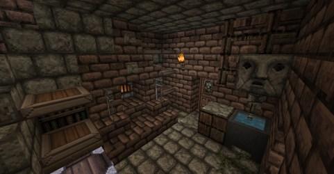 medieval minecraft kitchen gatehouse gate east