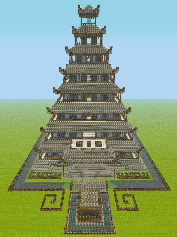 Temple Of The Moon Minecraft Project