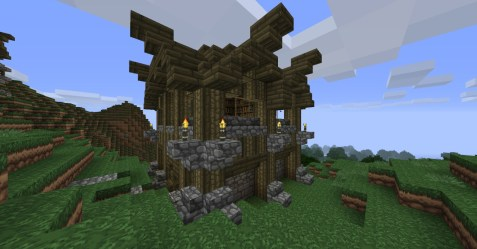medieval minecraft command designs outside