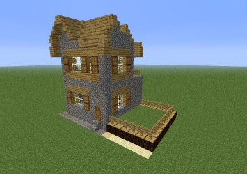 villager story advanced minecraft outside north west