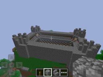 minecraft castle pe map xd foggy