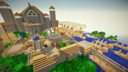 Elessedil and Arborlon the Elven Cities [DOWNLOAD] Minecraft Map
