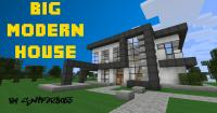 Big Modern House - by Sn1p3r8055 Minecraft Project