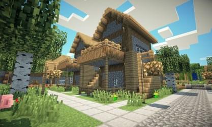 castle ancient village medieval minecraft charming