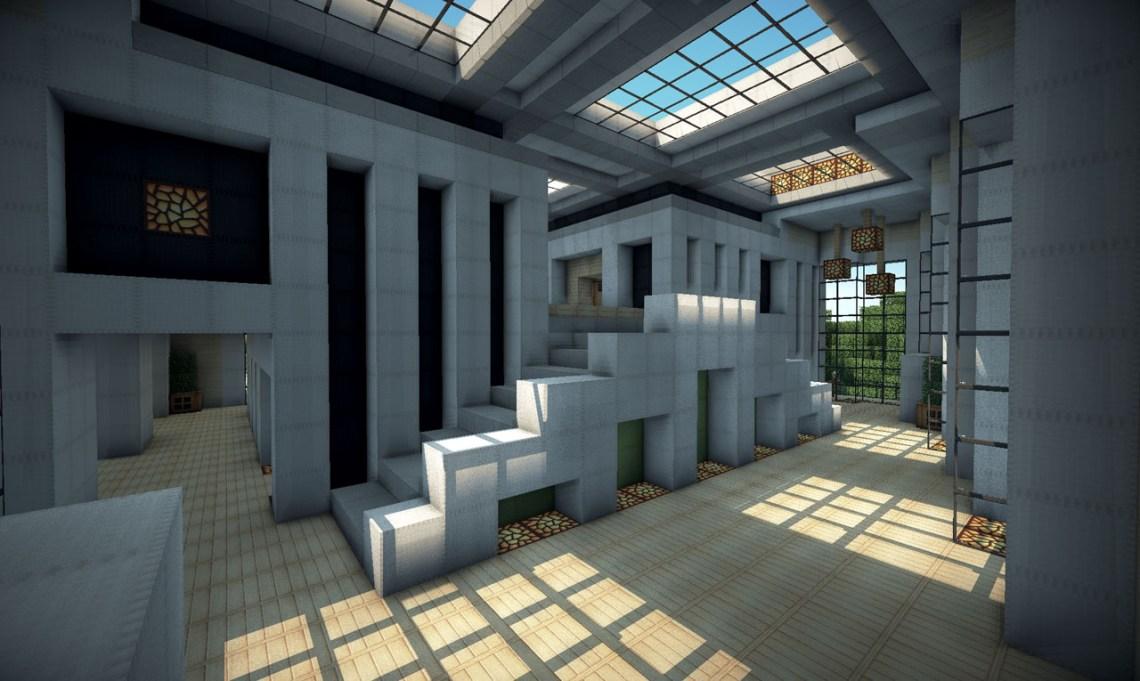 Modern House on World of Keralis Minecraft Map