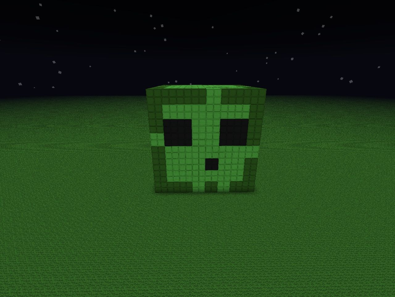 Giant Slime !!! Minecraft Project