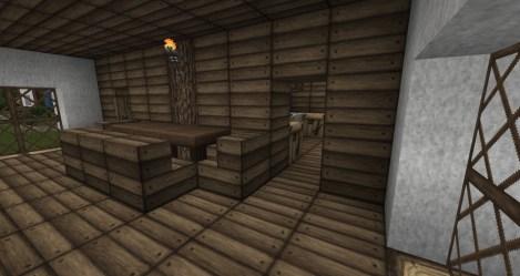medieval kitchen tutorial minecraft table