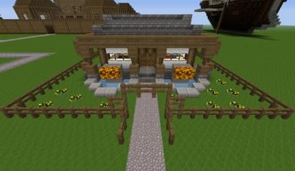 cottage cozy minecraft