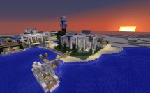 Modern House Village Coming Minecraft Project