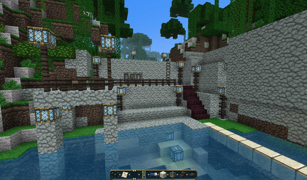 Cave Home Island Home And More Minecraft Project