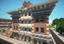 Victorian Style Town With Hotel World Of Keralis
