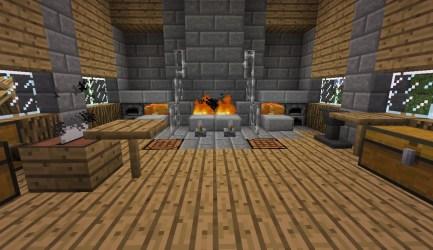 blacksmith inside minecraft