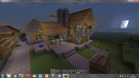 blacksmith village workshop minecraft npc front felt project doing found re diamonds ended planetminecraft