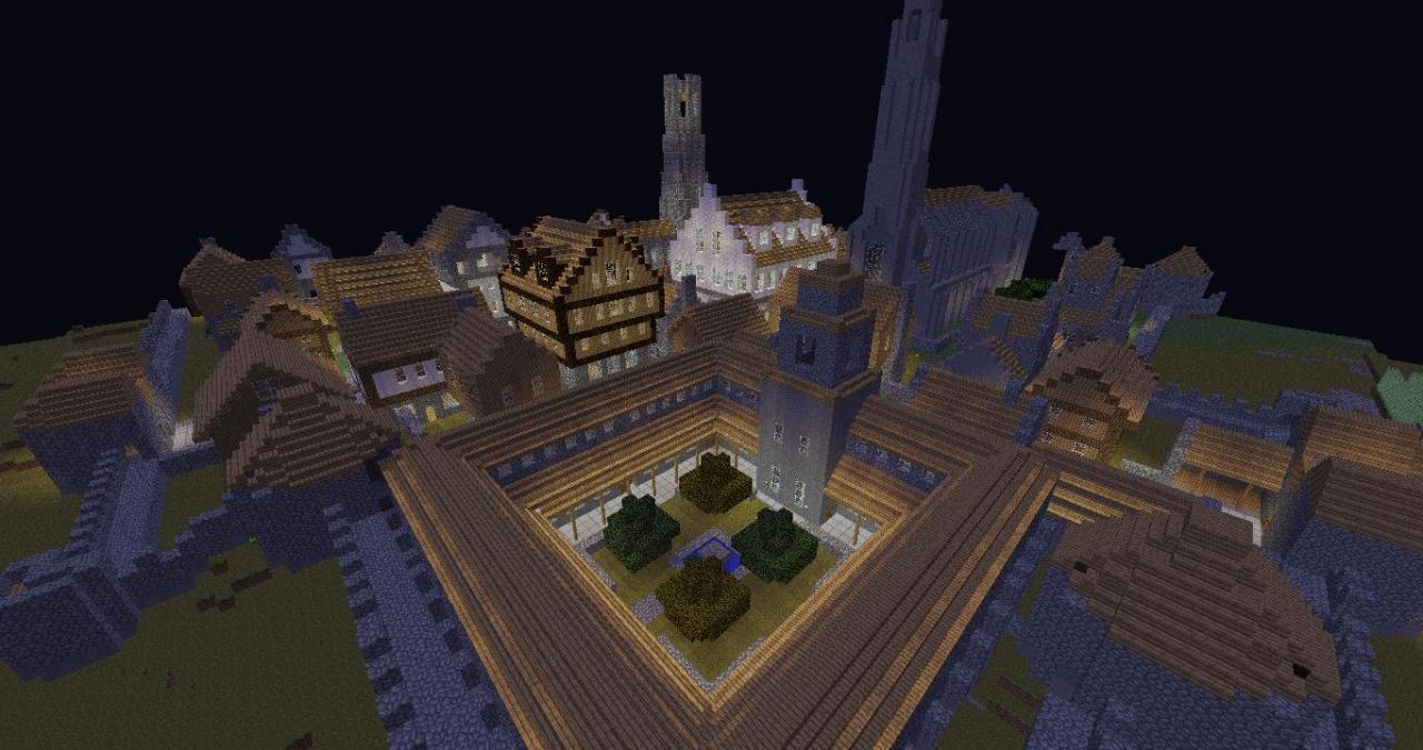 World of MINECRAFT RPG Map! Minecraft Project