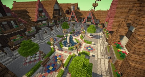 medieval town minecraft square project lovely map update1 builders needed huge