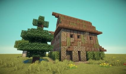 medieval barn minecraft barnhouse schemagic info announcement feature read