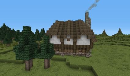 cottage medieval minecraft