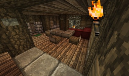 medieval cottage minecraft whole showing floor