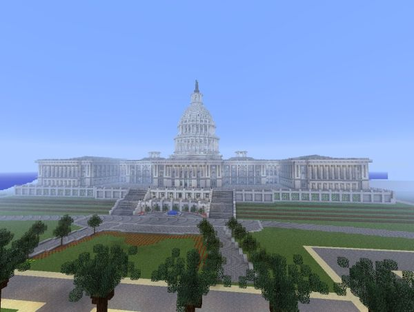 United States Capitol Building Minecraft