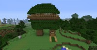 Cool Tree House Minecraft Project