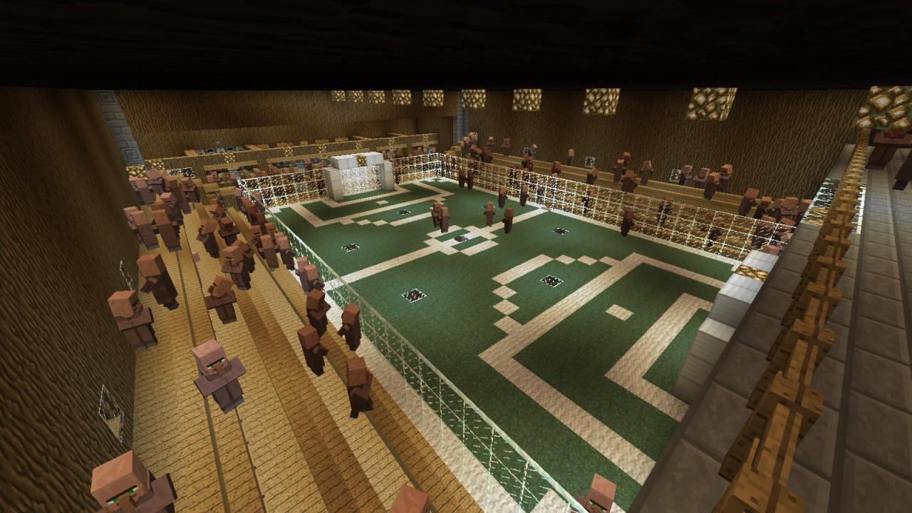 The EPIC super secret mega awsome fantastic fun underground cool BASE Minecraft Project
