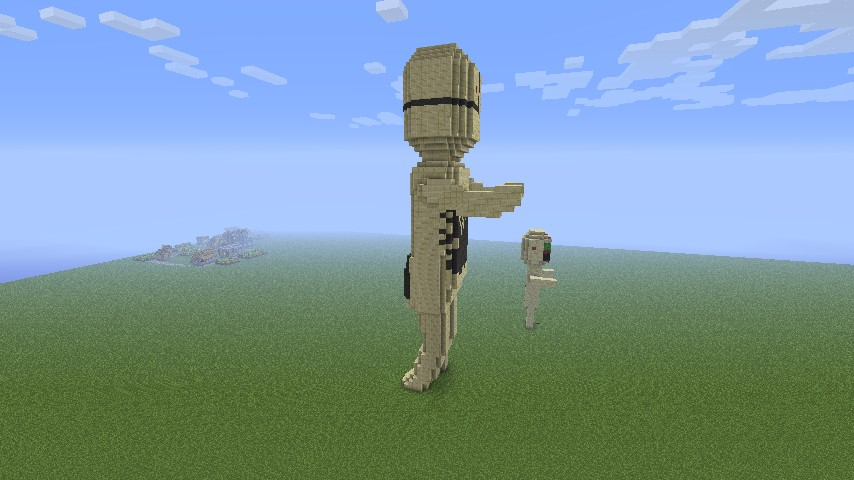 SCP173 Model Minecraft Project