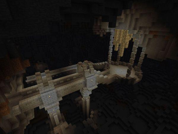 Minecraft Dwarven Bridge - Year of Clean Water