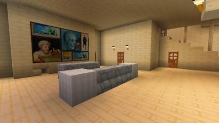 comfy minecraft room entrance living garage bathroom