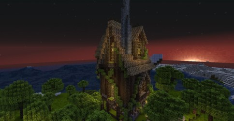 cozy cottage minecraft project