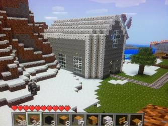 church simple minecraft sideview map planetminecraft