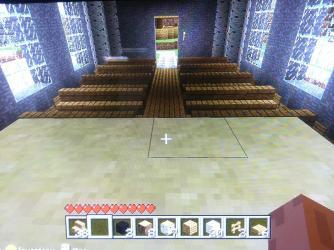 church simple altar minecraft
