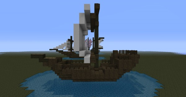 pirate ship minecraft # 59