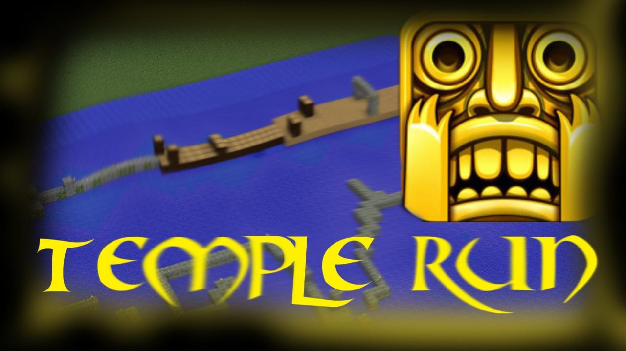 Temple Run Minecraft Project