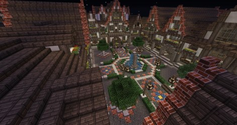 medieval square town minecraft lovely 3d info update1 builders needed schemagic announcement feature read pmcview3d