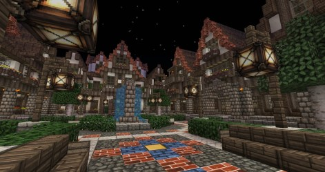 medieval town square minecraft project lovely update1 builders needed whole check