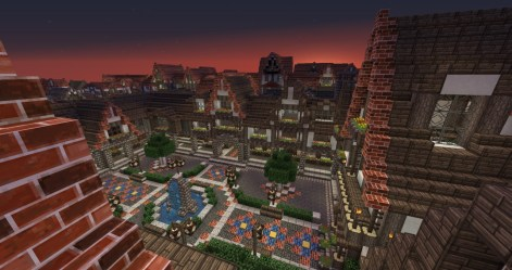 medieval town square minecraft project 3d lovely map update1 builders needed rotation pmcview3d library