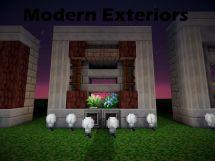 Make Modern Exterior Minecraft