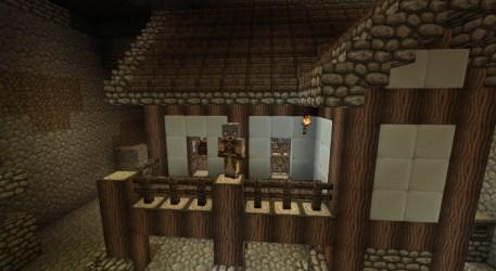 underground medieval minecraft posed