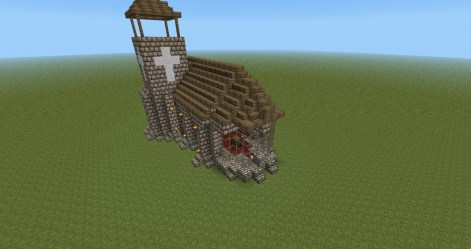 chapel minecraft side right project planetminecraft