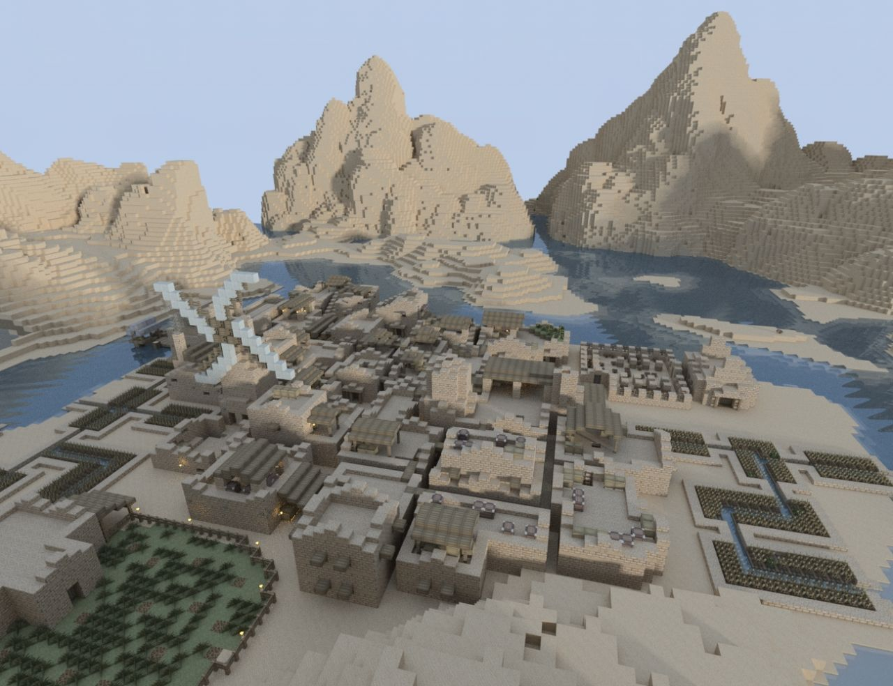 Dessert Settlement Minecraft Project