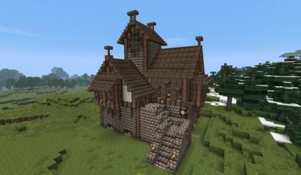 medieval houses buildings minecraft craft bundle progress heart outside