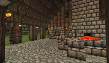 blacksmith medieval heart minecraft inside craft