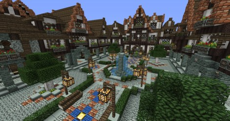 medieval town minecraft square lovely project update1 builders needed