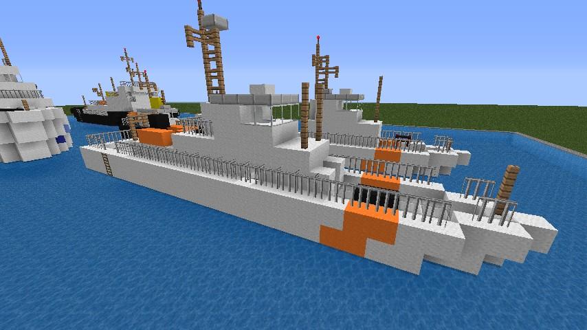Minecraft Boats Mod Small